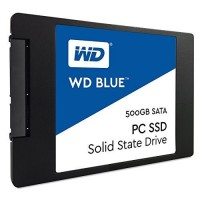 WD Blue 500GB Internal SSD Solid State Drive - SATA 6Gb/s 2.5 Inch - WDS500G1B0A