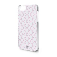 iLuv Chic Hardshell Case for iPhone 5/5s -iCA7H307 - White