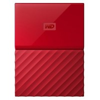 WD 1TB Red My Passport  Portable External Hard Drive - USB 3.0