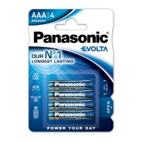 PANASONIC EVOLTA AAA 4PACK