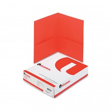 Universal Portfolio Letter 2 Pocket Red