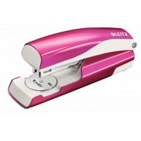 Leitz NeXXt Series WOW Metal Stapler, Pink