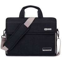 BRINCH 17.3 FABRIC LT BAG BLACK