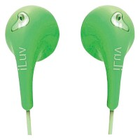 ILUV EARPHONES GREEN