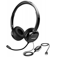 MPOW 071 USB HEADSET BLACK