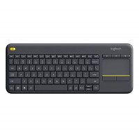 Logitech - K400 Plus Wireless Keyboard - Black