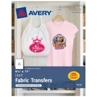 AVERY TSHIRT TRANSFERS LIGHT