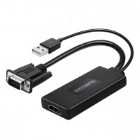VicTsing VGA To HDMI Adapter Converter 1080p Video Cable