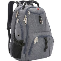 SWISSGEAR TRAVEL BACKPACK GREY