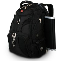 SWISSGEAR TRAVEL BACKPACK BLK