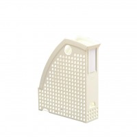 DURABLE MAGAZINE RACK TREND WHT