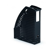 DURABLE MAGAZINE RACK TREND BLK