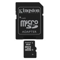 KINGSTON 8GB MICRO SD CL10