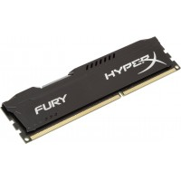 HYPERX FURY BLK DDR3-1600 4GB