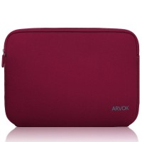 ARVOK SLEEVE 17IN WINE RED