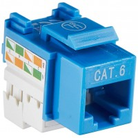 INTELLINET KEYSTONE CAT6 BLUE
