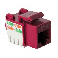 NEXXT KEYSTONE JACK CAT6 RED