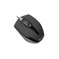 KLIPX MOUSE BLACK WIRED