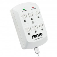 FORZA 6 OUTLET WALL TAP USB