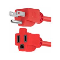 FORZA 3FT EXT POWER CORD RED
