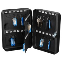 KEY CABINET 48 KEYS BLACK