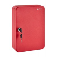 KEY CABINET 48 KEYS RED