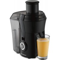 "Hamilton Beach Juicer Machine, Big Mouth 3"" Feed Chute, Centrifugal, Easy to Clean, BPA Free, 800W, Black"