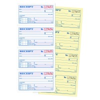 Adams(R) Carbonless 2-Part Spiral Money/Rent Receipt Book, 11in. x 5 1/4in., Boo
