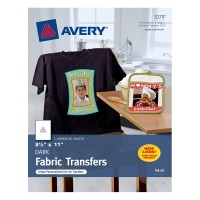 Avery T shirt Transfers, Dark / Inkjet - Avery
