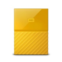 WD 1TB Yellow My Passport  Portable External Hard Drive - USB 3.0