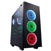 FSP MID TOWER TEMP GLASS RGB