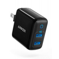 ANKER POWERPORT II 2 PORT BLK