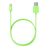 ANKER LIGHTNING USB iPHONE CABLE 3FT GREEN