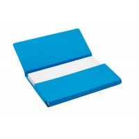 JAL POCKET FILE FOLIO BLUE 10X