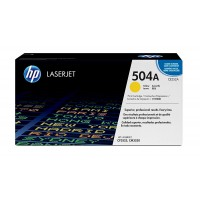 HP TONER 504A CE252A YELLOW