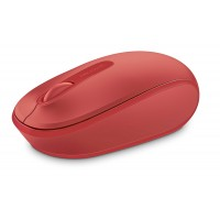 MICROSOFT WRLS 1850 FLAME RED MOUSE