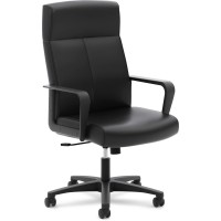 Basyx - Vl604sb11 By Hon High-back Executive Chair Black
