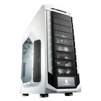 COOLER MASTER Storm Stryker SGC-5000W-KWN1 System Cabinet - Full-tower - Black, White