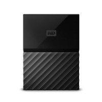 WD 1TB Black My Passport  Portable External Hard Drive - USB 3.0