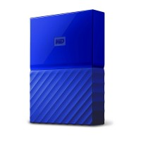 WD 2TB Blue My Passport  Portable External Hard Drive - USB 3.0