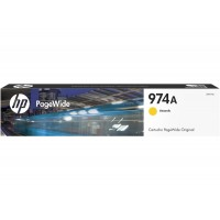HP CART 974A YELLOW PAGEWIDE