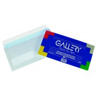 GALLERY  110X220 GUMMED ENVELOPE WHITE 25/PACK