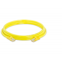 Allen Tel AT1514EV-YL Category 5e Patch Cord, 14-Foot Length, Yellow