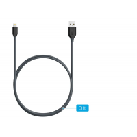 ANKER LIGHTNING CABLE 3FT GRY