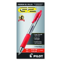 PIL RBALL RT G2 GEL RED 12X
