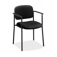 Basyx by HON - VL616 Guest Chairs with Arms, Black