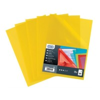 ELBA L-MAP A4 Format 10/Packet - Yellow