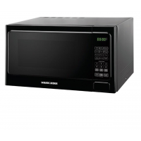 Black & Decker EM031MAA-X2 Microwave, 1.1 Cu.ft, Black
