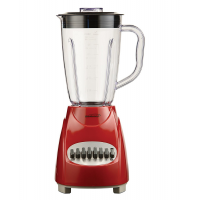BRENTWOOD 12 SPEED BLENDER RED
