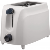 BRENTWOOD 2 SLICE TOASTER WHT